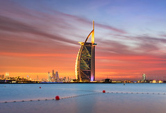 _DS20481 - Burning skies of Dubai (AlexDROP) Tags: 2019 dubai uae emirates art travel architecture color cityscape skyline nikond750 afsnikkor28300mmf3556gedvr best iconic famous mustsee picturesque postcard bluehour sunset