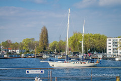 Amstel River Amsterdam (Peter.Stokes) Tags: colour europe landscape landscapes nature outdoors panorama photo photography spring sea sky vacations saltwater summer waves water awayfromitall boats clouds countryside cruise colourphotography coastline
