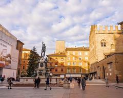The Fountain of Neptune, Bologna, Italy (alessio.vallero) Tags: