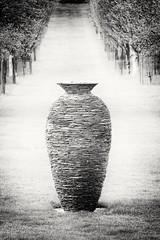 Vessel (phileveratt) Tags: buscotpark joesmith sculpture slate vessel blackwhite monochrome canon eos77d efs18135
