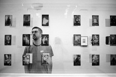 (SamBHart) Tags: nikonfm2 bwfilm 35mmlens newyorkcity trix be bw blackandwhite personal friends museum photography
