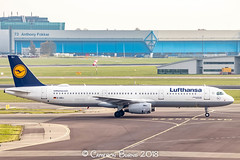 """Lufthansa D-AIDJ A321-200 (IMG_1839) (Cameron Burns) Tags: lufthansa lh daidj remscheid airbus airbus321 airbus321200 a321 a321200 fra frankfurt germany deutschland white blue yellow amsterdam schiphol airport amsterdamschipholairport """"amsterdam schiphol"""" ams eham airfield aviation aerospace airliner aeroplane aircraft airplane plane canoneos80d canoneos eos80d canon80d canon eos 80d netherlands holland dutch haarlemmermeer """"luchthaven luchthaven europe action"""