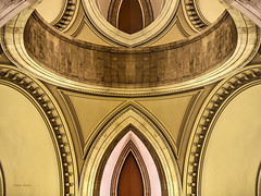 arches (albyn.davis) Tags: arches design abstract color golden brown duplication hdr met