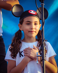 Mousketeer (Kevin MG) Tags: girls young youth cute pretty little concert performance ka1 mousketeer kid child childhood singing performer
