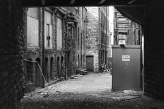 104/365 Derelict (Charlie Little) Tags: carlisle cumbria streetphotography derelict decay blackandwhite mono bw canoneosm5 p365 project365