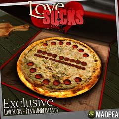 Love Sucks Exclusive MadPea @ Epiphany (MadPea Productions) Tags: madpea productions gacha pizza decor epiphany gachas madpeas events sl event tasty set