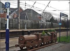 Flower pot train (Colin Partington) Tags: 20190103 lancashire 52456 060 wooden leyland flowerpot