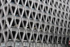 Welbeck Street Car Park,17 (doojohn701) Tags: brutalist 1970s concrete building flourescent streetlighting postmodernist sunlight london uk