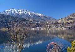 Il lago di Caldonazzo (giorgiorodano46) Tags: marzo2019 march 2019 giorgiorodano italy trentino valsugana caldonazzo lago lake lac mountain alpi alpes alps alpen landscape