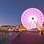 Vieux port wheel. Marsella, Francia. thumbnail