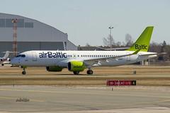 IMG_4995@L6 (Logan-26) Tags: airbus a220300 ylaao msn 55050 air baltic brand new riga international rix evra latvia airport aleksandrs čubikins 1st first