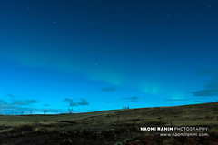 Aurora 21/11/18 - Iceland (Naomi Rahim (thanks for 5 million visits)) Tags: aurora auroraborealis northernlights iceland scandinavia europe europa 2018 autumn landscape nature astrophotography night sky green power electricity stars clear