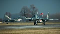 Fulcrums (kamil_olszowy) Tags: mig29g fulcrum fighter 912a epmb 22blt 4113 4104 siły powietrzne rp loty polish air force jet malbork ввс польши миг29г