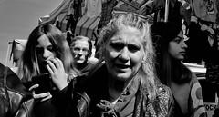 Life becomes a trio... (Baz 120) Tags: candid candidstreet candidportrait city contrast street streetphotography streetphoto streetcandid streetportrait strangers rome roma ricohgrii europe women monochrome monotone mono noiretblanc bw blackandwhite urban life portrait people italy italia grittystreetphotography faces decisivemoment