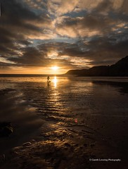 Sunset over Caswell Bay 2019 01 25 #34 (Gareth Lovering Photography 5,000,061) Tags: sunset sun sunny sunshine caswell gowercoast gower swansea wales seaside landscape beach walescostalpath olympus penf garethloveringphotography