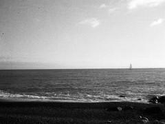 090419001 (francescoccia) Tags: lavagna sailing beach sea reflex pentax pentaxauto110 lomographyorca lomography lomo blackwhite bw bn pocketfilm 110film 110 francescoccia analog analogue