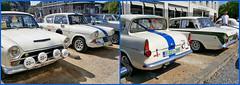 Ford Cortina et Ford Anglia, Aux Rétrofolies 2018 de Spa, Belgium (claude lina) Tags: claudelina belgium belgique belgië spa auto cars oldcar rétrofolies ford fordcortina fordanglia