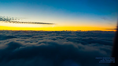 Enjoying A Sunrise Over the Clouds From 5,800 FT ASL (AvgeekJoe) Tags: aerialphotograph alaska114 alaskaflight114 clouds d5300 dslr nikon nikond5300 sunrise aerial aerialphoto aerialphotography cloud