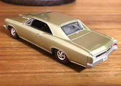 1966 Chevrolet Chevelle SS 396 1/64 Auto World (Eunus El Ya) Tags: american muscle car cars toy diecast model 164 auto world round 2 drag racing road tracks racer general motors gmc pontiac chevrolet cadillac buick oldsmobile 1966 60s chevelle ss 396 chevy 1960s luxury