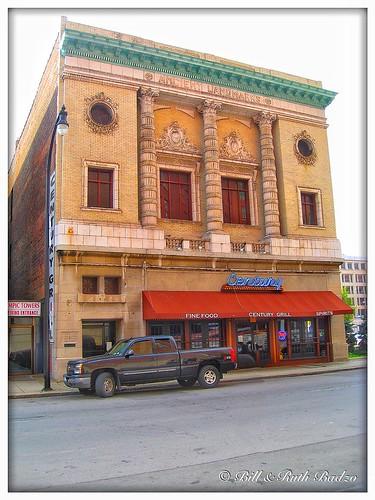 Buffalo New York - Ancient Landmark Building - - Century Grill -  Masonic Hall