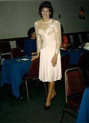 Now For A Real Oldie (Laurette Victoria) Tags: dress woman laurette brunette chicago chichapter triess