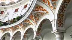 Plaza del Cabildo, Seville, Spain (geoff-inOz) Tags: seville heritage building historic architecture spain plaza andalusia ornate arches