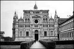 CERTOSA DI PAVIA (claudiobertolesi) Tags: certosadipavia chiesa claudiobertolesi 2014 lombardia abbey