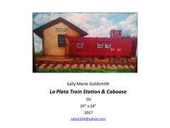 """La Plata Train Station and Caboose • <a style=""""font-size:0.8em;"""" href=""""https://www.flickr.com/photos/124378531@N04/47052358012/"""" target=""""_blank"""">View on Flickr</a>"""