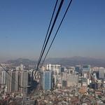 Namsan Cable Car, Seoul, Korea thumbnail