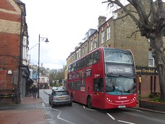 10 February 2019 Carshalton (4) (togetherthroughlife) Tags: 2019 february surrey carshalton bus t139 157 arriva lj10huy