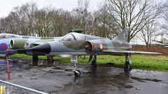 Dassault Mirage 3E  c/n 538 France Air Force serial 538 code 3-QH (Erwin's photo's) Tags: yorkshire air museum allied forces memorial halifax way elvington york yo41 4au united kingdom england preserved aircraft royal force navy army raf rn dassault mirage 3e cn 538 france serial code 3qh