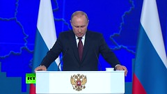 We don't want confrontation with US, but our partners continue their unconstructive policy – Putin (watchwar) Tags: news 1 hurt after pickup collides with snow plow northland 39yearoldmandragged killedbypassingtrain ejército venezolano prueba el sistema de misiles ruso fiery gas station crash leaves 3 dead in new jersey gun threats keeps 700 students from attending volusia school hunter taken hospital being shot head several pellets indiscriminate dumping johor private land las sanciones contra rusia en 2018 cuestan al país 6300 millones dólares estadounidensesf0rp179rqpw