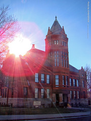 Old Marshall County Courthouse, 29 Dec 2018 (photography.by.ROEVER) Tags: kansas roadtrip trip 2018 december december2018 marshallcounty marysville courthouse marshallcountycourthouse oldcourthouse building architecture usa