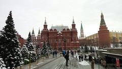 State Historical Museum (CarolinaNeves*) Tags: russia moscow snow palace basils cathedral history kremlin