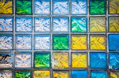 20190216-120 (sulamith.sallmann) Tags: form abstrakt baumaterial bunt farbenfroh glas glasbausteine hintergrund viereck viereckig sulamithsallmann