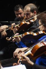 Violines (Guillermo Relaño) Tags: maxbruch camerata musicalis teatro nuevoapolo madrid guillermorelaño nikon d90 concierto número1 n1 violín violin especial ¿porquéesespecial orquesta orchestra violines