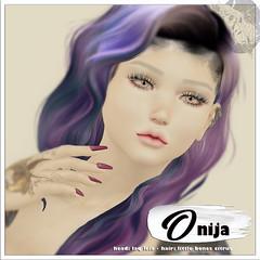 Stix Onija AD 2019 (Pixy Snook) Tags: skinfair secondlife stix skins applier logo laq catwa lelutka genus maitreya belleza slink