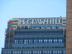 2019 McGraw-Hill Building 42nd Street NYC 2612 (Brechtbug) Tags: 2019 mcgrawhill building 42nd st nyc refurbished new york city green blue tile art deco buildings architecture mcgraw hill midtown manhattan fortysecond street penthouse office publishing magazine magazines rooftop sign forty second 02272019 bldg sky february