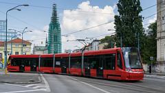 Bratislava tramway: Škoda 30T # 7510 (Amir Nurgaliyev) Tags: škoda30t bratislavatramway dpb