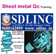 sheetmetal qaqc quality training sdlinc in 9600162099 (sdlincqualityacademy) Tags: coursesinqaqc qms ims hse oilandgaspipingqualityengineering sixsigma ndt weldinginspection epc thirdpartyinspection relatedtraining examinationandcertification qaqc quality employable certificate training program by sdlinc chennai for mechanical civil electrical marine aeronatical petrochemical oil gas engineers get core job interview success work india gulf countries