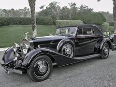 1935 Rolls Royce Phantom II at Amelia Island 2009 (gswetsky) Tags: amelia island concours delegance rolls royce phantom ii antique classic ccca european british