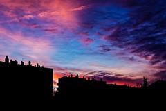 Crépuscule à Marseille (thierrybalint) Tags: ciel sky nuages clouds bâtiment building crépuscule dusk marseille lablancarde nikon nikoniste balint thierrybalint