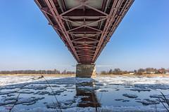under the bridge (dietertitscher) Tags: eis eisschollen elbe schönebeck