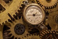 Timepiece (NedraI) Tags: timepieces macromondays macro watch gears vintage gold hands timepiece analog