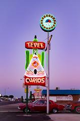 Tepee Curios (dangr.dave) Tags: tucumcari nm newmexico downtown historic architecture neon neonsign tepeecurios teepeecurios