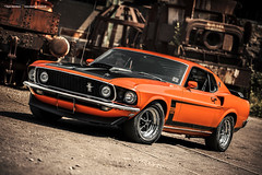 Orange 1969 Ford Mustang Mach1 (Dejan Marinkovic Photography) Tags: 1969 ford mustang mach1 american muscle car classic orange automotive