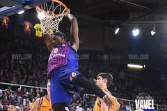 DSC_0310 (VAVEL España (www.vavel.com)) Tags: fcb barcelona barça basket baloncesto canasta palau blaugrana euroliga granca amarillo azulgrana canarias culé
