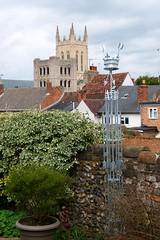 St Edmunds Crown Statue (Martin Pettitt) Tags: 2019 burystedmunds churchwalks dslr march nikond90 outdoor spring stedmundscrownstatue suffolk town uk