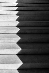 ZigZag - shadow on the stair (rainerralph) Tags: fe282470gm blackwhite architektur nuernberg schwarzweiss stairway treppe shadow abstract architecture sony sonyalpha schattenspiel a7r3 nürnberg