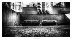 Asphalt Jungle ... (michel di Méglio) Tags: urbain urban street streeview marseille monochrome city town ville concrete beton siverefexpro zuiko olympus bw blackandwhite noiretblanc france light shadow